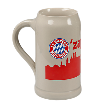 Glass Beer Mug O'zapft is