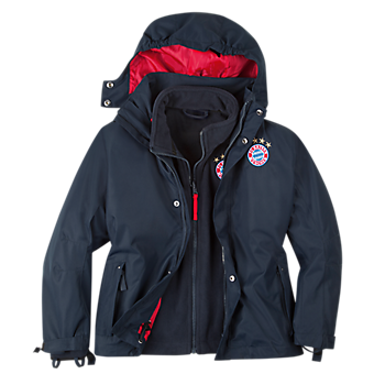 Kids' 2-in-1 Outdoor Jacket