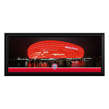 Panoramic Photo of Arena Exterior 70 x 30 cm