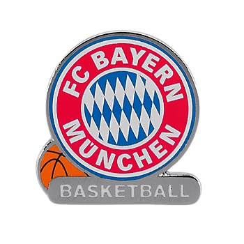Pin Emblem Basketball