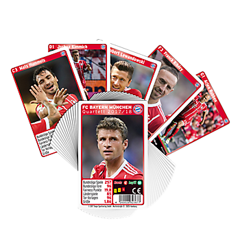 Quartets Card Game 2017/2018