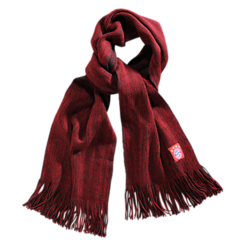 Scarf red/anthracite