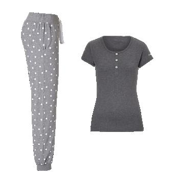 Schlafanzug Lady