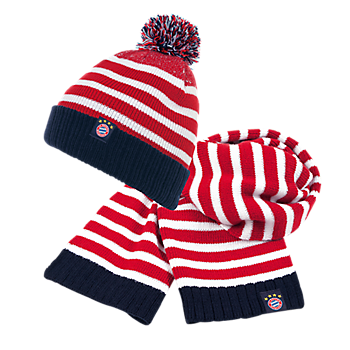 Kids Hat & Scarf Set