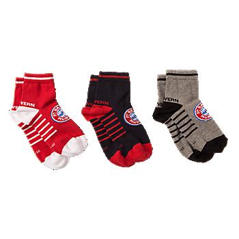 Sneaker-Socken Kids 3er-Set
