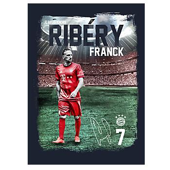 Spielerposter Franck Ribéry