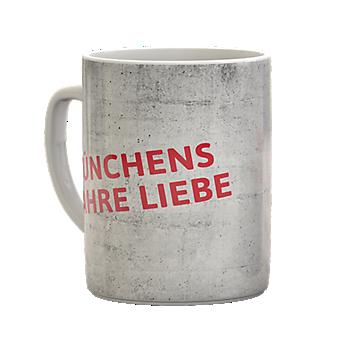 Sprüchetasse Münchens wahre Liebe