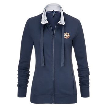 Sweatjacke Lady rose-gold Logo