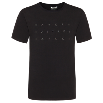 T-Shirt Basketball Hustles Harder black