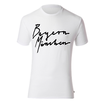 T-Shirt Bayern white