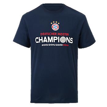 T-Shirt Deutscher Meister 2016