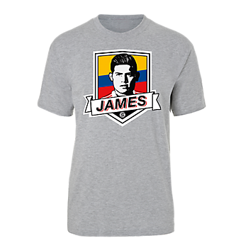 T-Shirt James Rodriguez Kolumbien