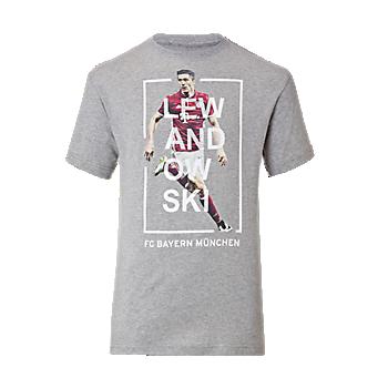 T-Shirt Kids Spieler Lewandowski