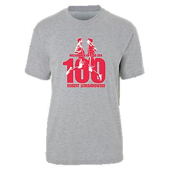 T-Shirt Lewandowski 100 Goals