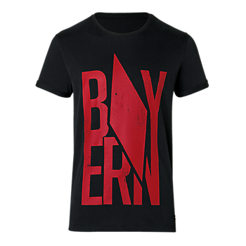 T-Shirt Raute schwarz