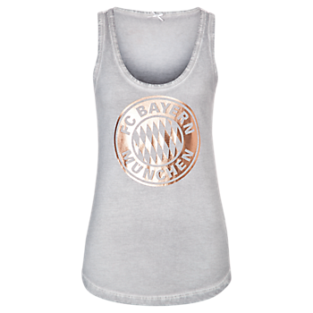 Tank Top Lady rose-gold Logo