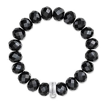 Thomas Sabo Chram Wristband Obsidian