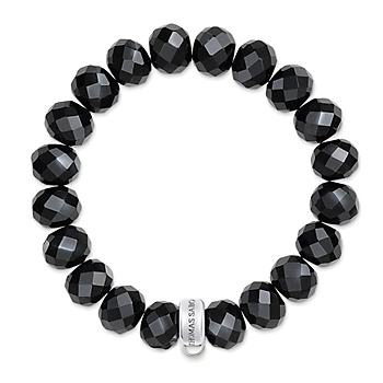 Thomas Sabo Charm Armband Obsidian