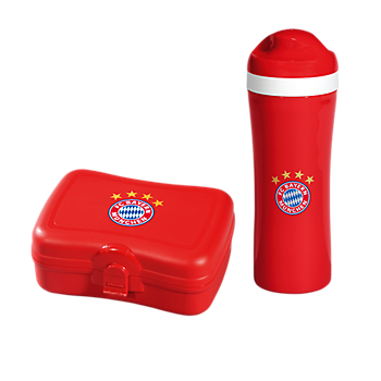Trinkflasche + Brotzeitbox 2er Set
