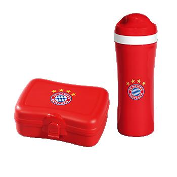 Trinkflasche + Brotzeitbox 2er Set