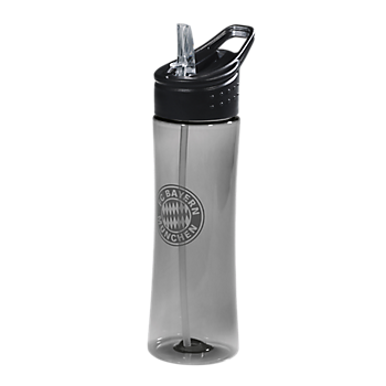 Bottle transparent anthracite 0,75 l