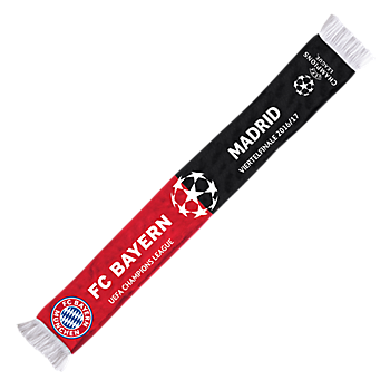 UCL Scarf Bayern-Real