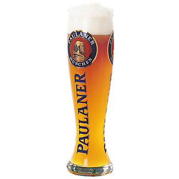 "Large Beer Glass ""Weißbier"", 3 litre"