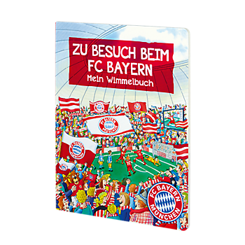 Hidden Object Book: Visiting FC Bayern