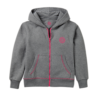 Girls' Zip-Up Hoodie