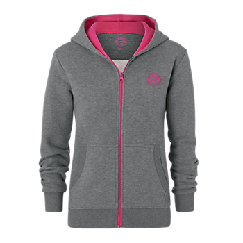 Girls' Hoodie with Zipper