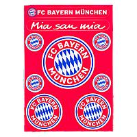 Aufkleberkarte Logo