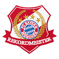 Rekordmeister Patch