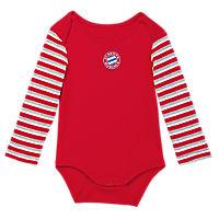 Baby Long-Sleeve Bodysuit Striped