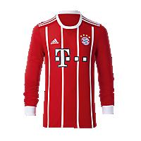 FC Bayern Kids Jersey Home Longsleeve 17/18