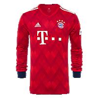 FC Bayern Jersey Home Longsleeve 18/19