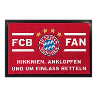 Fußmatte FCB FAN
