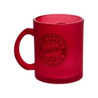 Glass Mug red