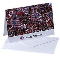 Karte Happy Birthday (Fans)