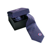 Tie red/white/navy