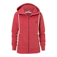 Ladies Zip-Up Hoodie Badge