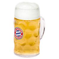 Glass Beer Mug 1 l