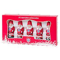 Mini Schoko-Weihnachtsmann 5er Set