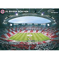 Poster Allianz Arena Innenraum 360°