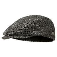 Flat Cap with Pin