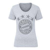 T-Shirt Lady Glitter Logo