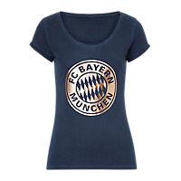 Womens Logo T-Shirt Rose-Gold