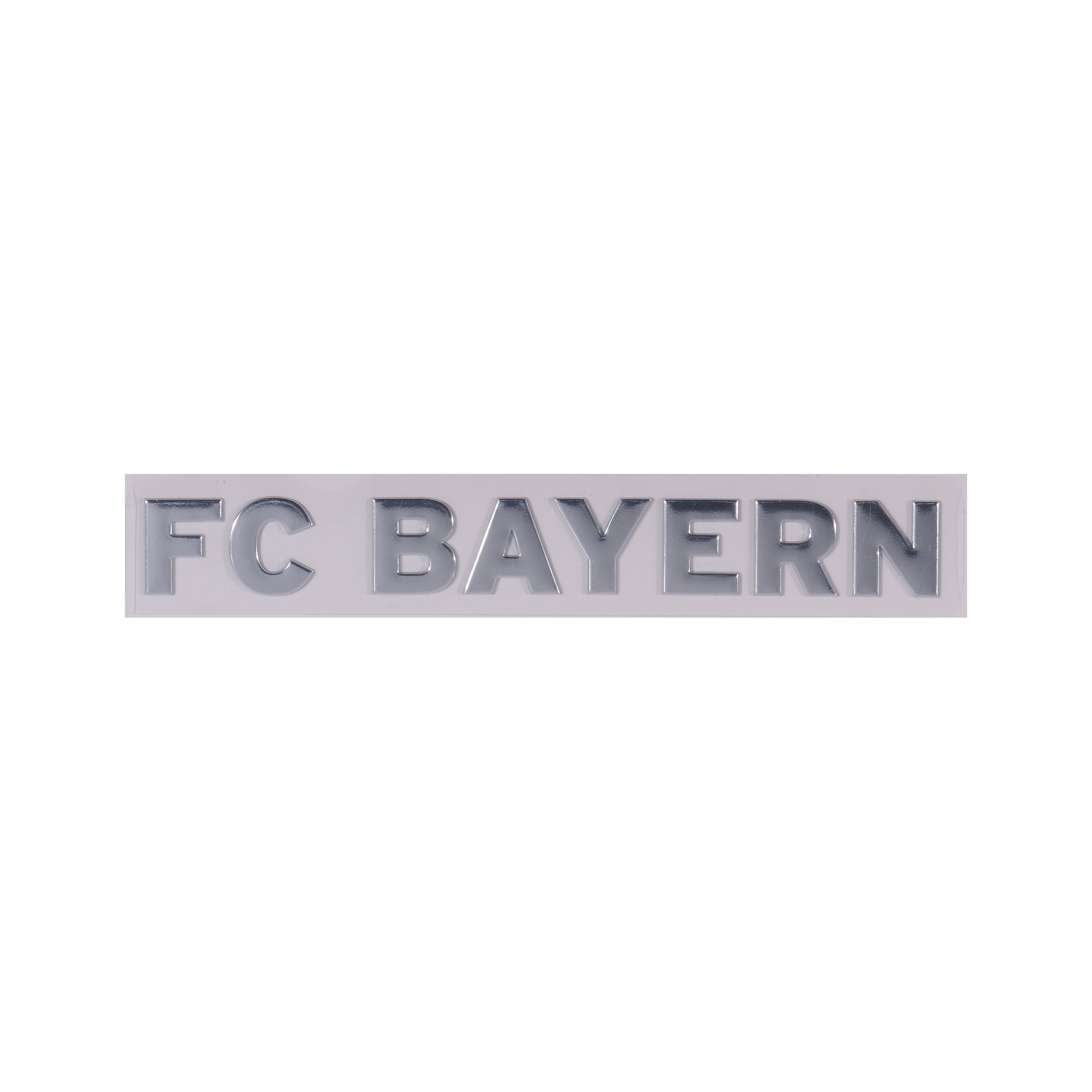 Autoaufkleber Chrom FC Bayern