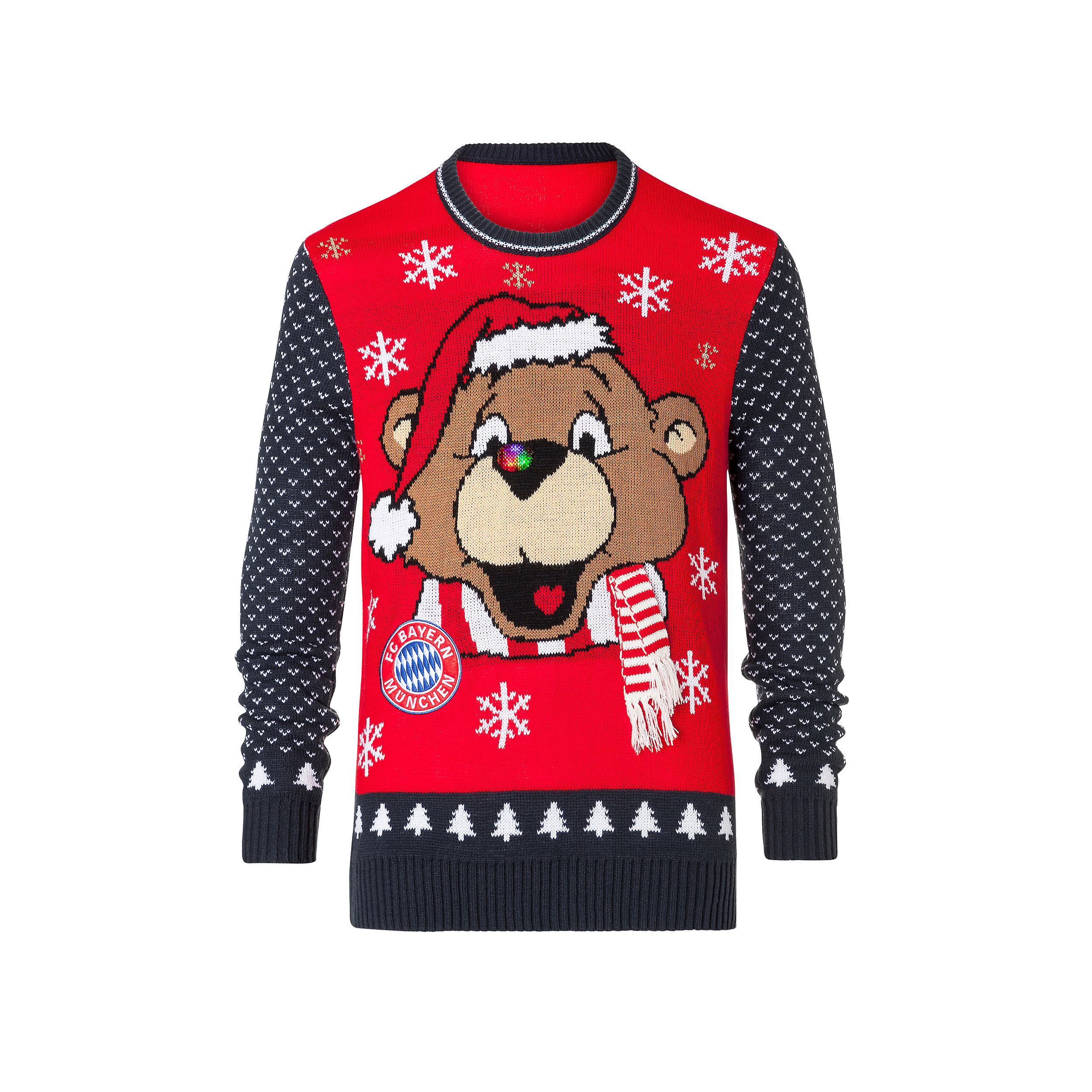 Kids\' Ugly Christmas Sweater | Official FC Bayern Online Store