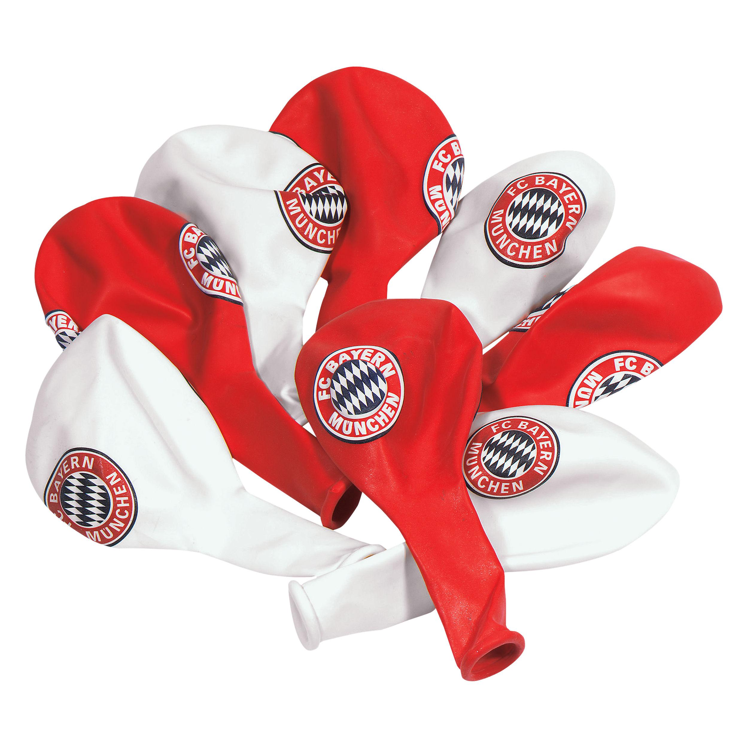 Luftballons FC Bayern München (10 Stück)