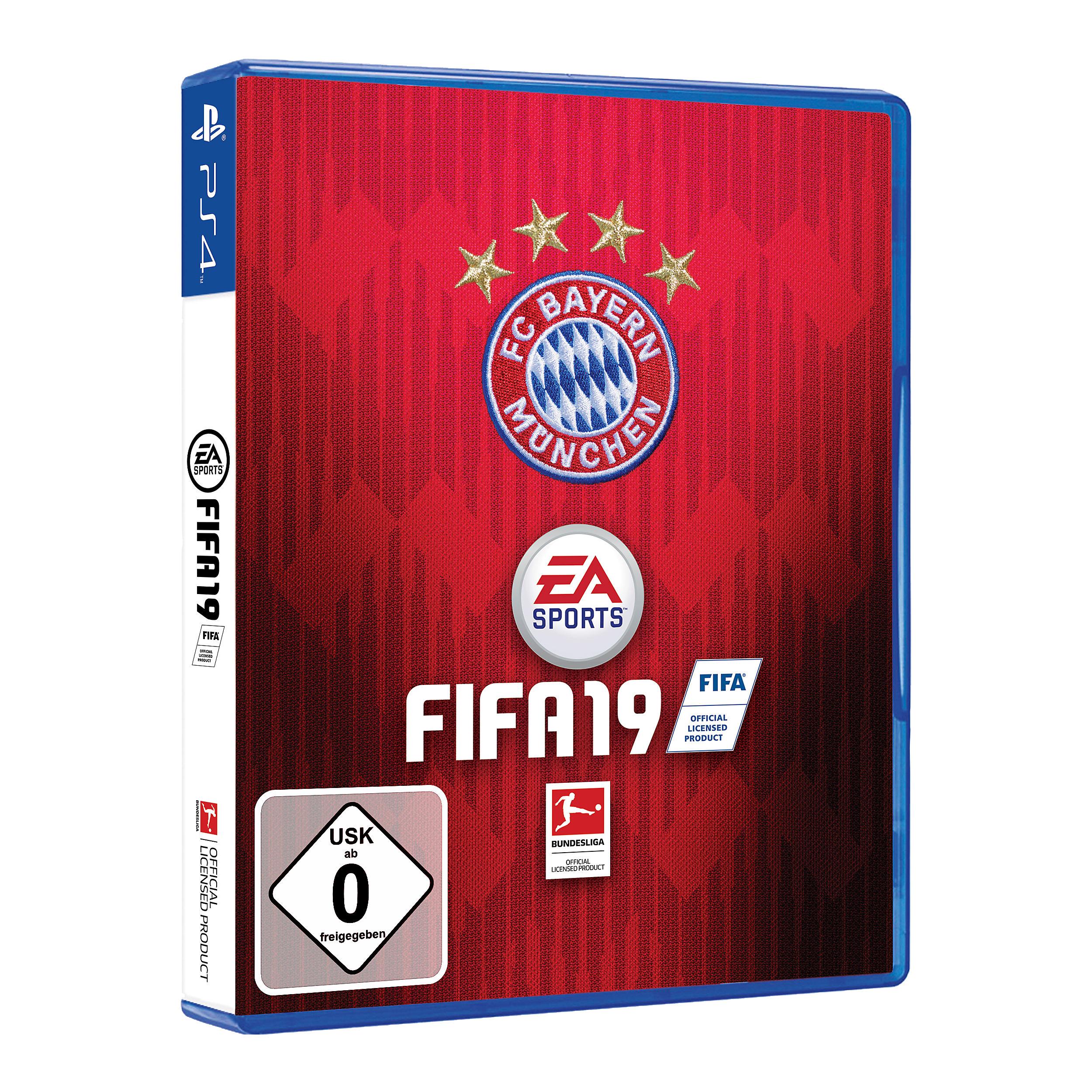 FIFA 19 FC Bayern Edition für PS4 – €69,95